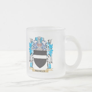 Michels Coat of Arms - Family Crest 10 Oz Frosted Glass Coffee Mug