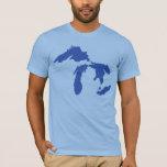 Michgan, Great Lakes Shirt
