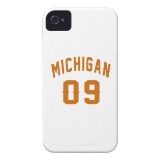 Michigan 09 Birthday Designs iPhone 4 Case
