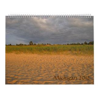 Michigan 2012 calendars