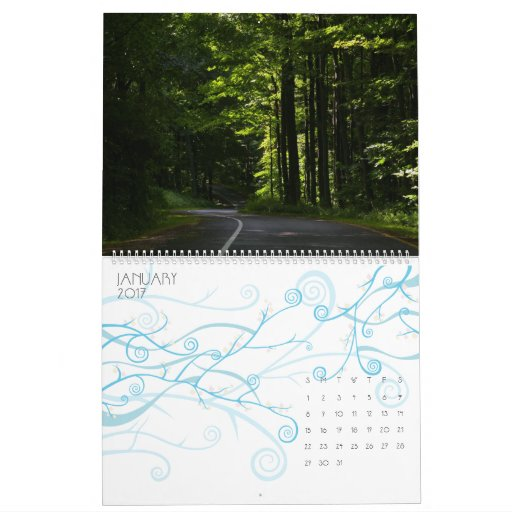 Michigan 2012 calendario de pared