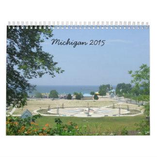 Michigan 2015 Travel Photo Calendar