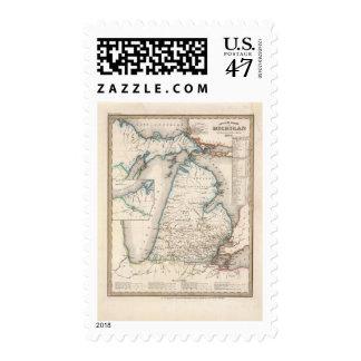 Michigan 2 postage stamp
