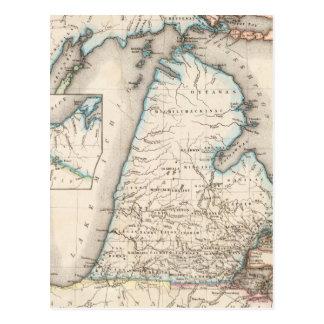 Michigan 2 postcard