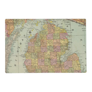 Michigan 3 placemat