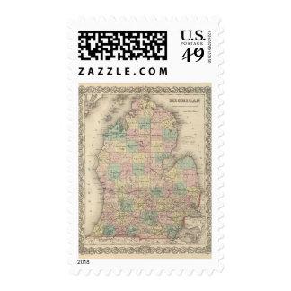 Michigan 3 postage
