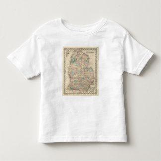 Michigan 3 toddler t-shirt