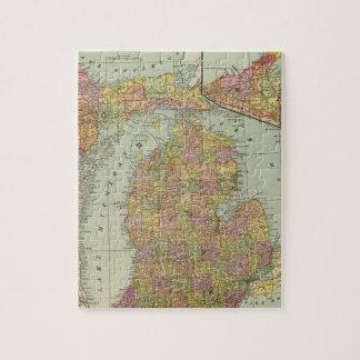 Michigan 4 rompecabezas con fotos