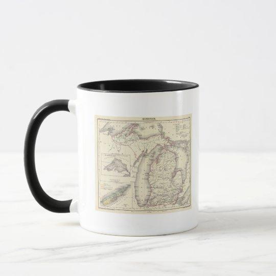 Michigan 5 mug