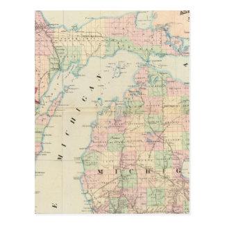 Michigan 7 postales