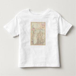 Michigan 7 toddler t-shirt