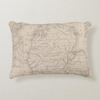 Michigan 9 decorative pillow