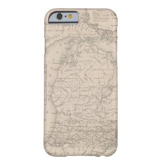 Michigan 9 funda barely there iPhone 6