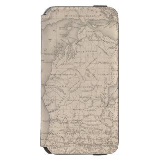 Michigan 9 funda billetera para iPhone 6 watson