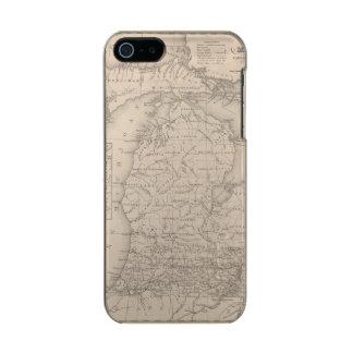 Michigan 9 funda para iPhone 5 incipio feather shine
