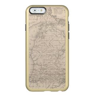 Michigan 9 funda para iPhone 6 plus incipio feather shine