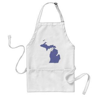 Michigan: A BLUE State Adult Apron