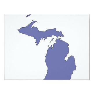 Michigan: A BLUE State Card