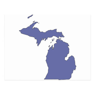 Michigan: A BLUE State Postcard