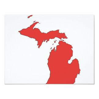 Michigan: A RED State Card