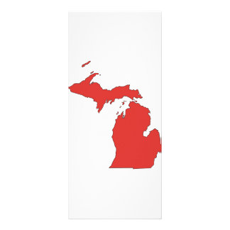 Michigan: A RED State Rack Card
