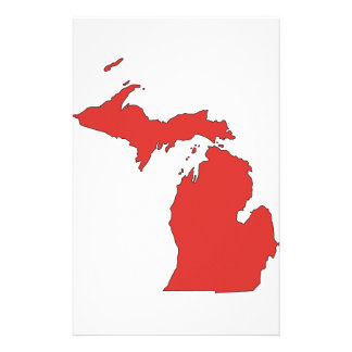 Michigan: A RED State Stationery