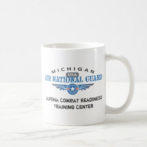 Michigan Air National Guard Classic White Coffee Mug