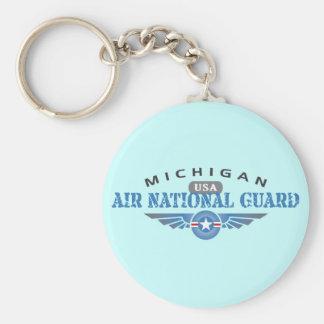 Michigan Air National Guard Keychain