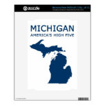 Michigan. America's High Five Decal For NOOK