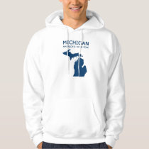 Michigan. America's High Five. Hoodie. Hoodie