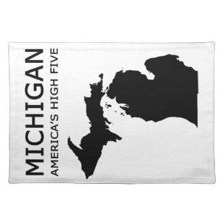 Michigan. America's High Five Place Mats