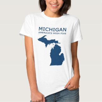 Michigan. America's High Five Shirts