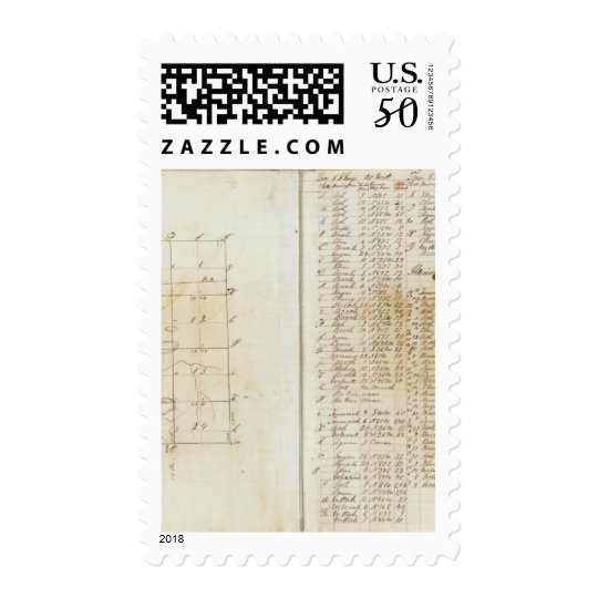 Michigan and Indiana Survey 3 Postage