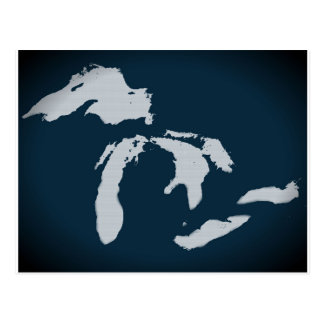 Michigan and the Great Lakes Postcard
