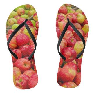 Michigan apple collection flip flops