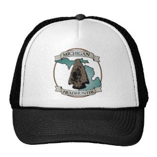 Michigan Arrowhead Hunter Mesh Hat