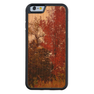 Michigan Autumn iPhone 6 Bumper Cherry Wood Case