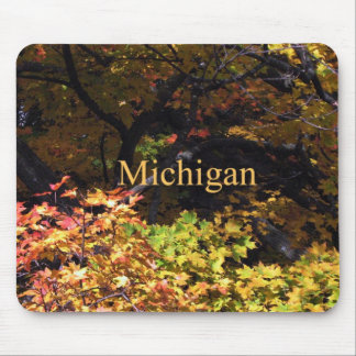 Michigan Autumn Maples Mouse Pad