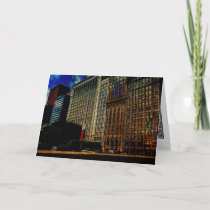 Michigan Ave. Chicago Card