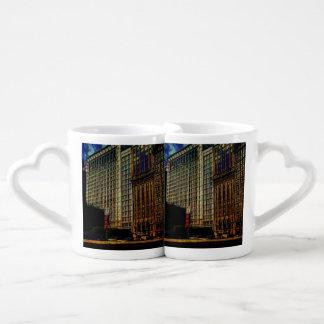 Michigan Ave Chicago Coffee Mug Set