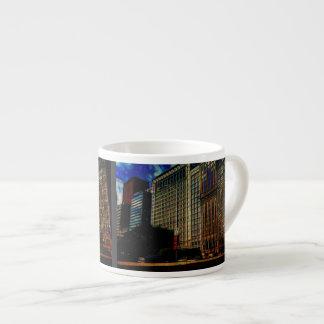 Michigan Ave. Chicago Espresso Cup