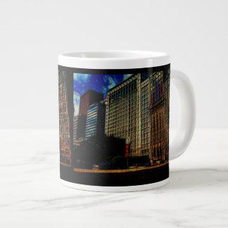 Michigan Ave. Chicago Giant Coffee Mug