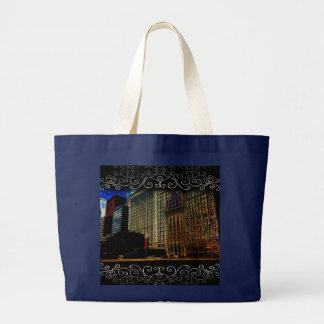 Michigan Ave. Chicago Large Tote Bag