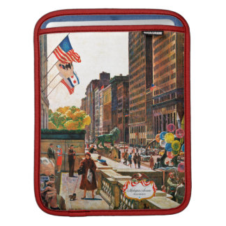 Michigan Avenue, Chicago by John Falter iPad Sleeves
