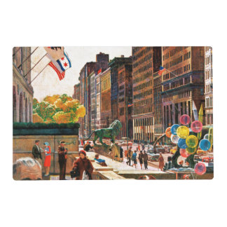 Michigan Avenue, Chicago by John Falter Placemat