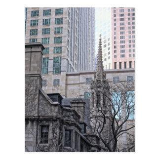Michigan Avenue Chicago Postcard