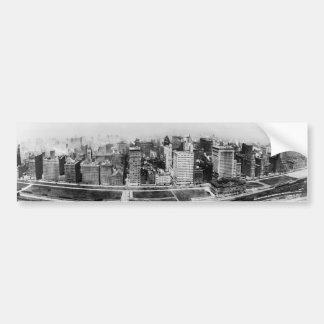 Michigan Avenue in Chicago (1911) Bumper Sticker