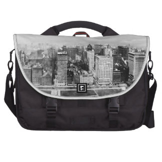 Michigan Avenue in Chicago (1911) Bags For Laptop