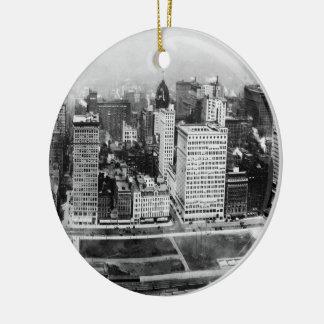 Michigan Avenue in Chicago (1911) Ornaments