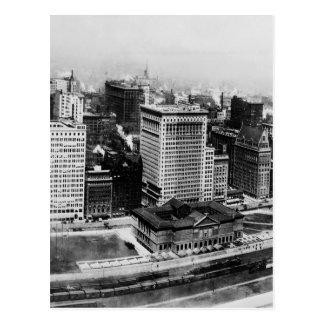 Michigan Avenue in Chicago (1911) Postcard